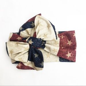 Other - Patriotic Headwrap, Vintage Flag